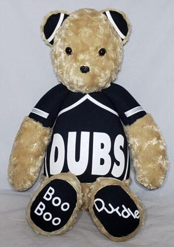 19 - BearyHuggables_Dubs with words memory bear