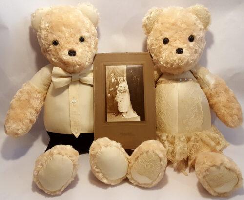 33- BearyHuggables_vintage wedding memory bear