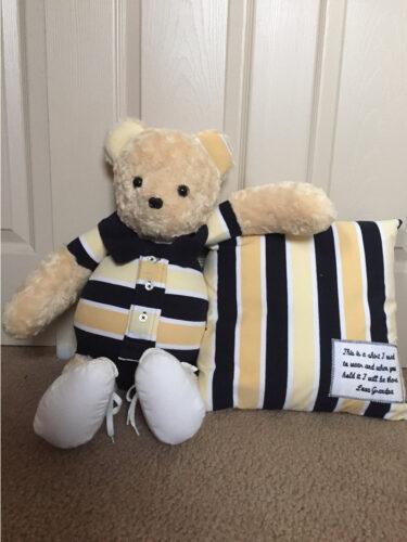 34- BearyHuggables_matching bear and pillow