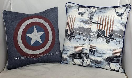 39- BearyHuggables_set of two patriotic memory pillow