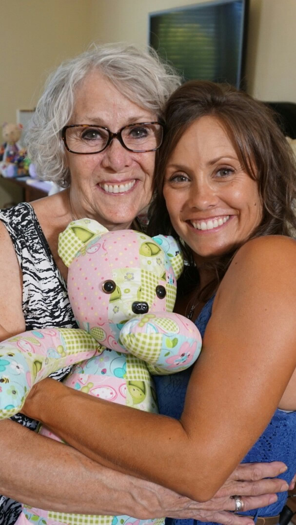 Beary huggables owners Susie and Jenni