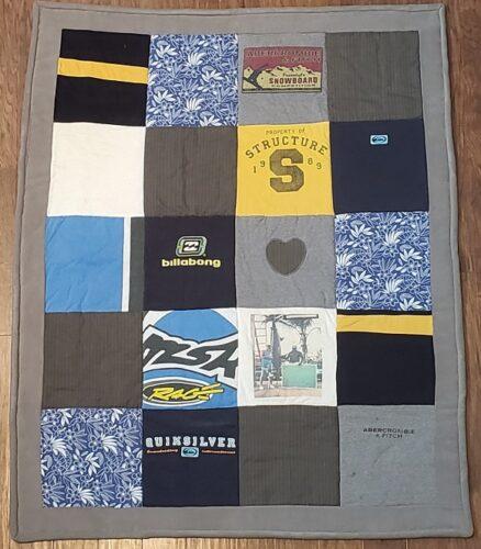 98-Beary Huggables_Dad & Son Memory Quilt Blanket