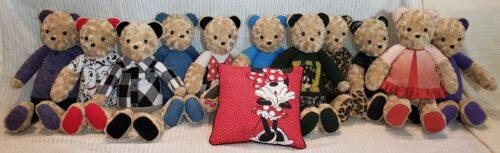 52- Beary Huggables_Family of memory bears