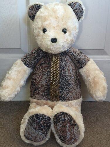76-Beary Huggables_Leopard Shirt Bear