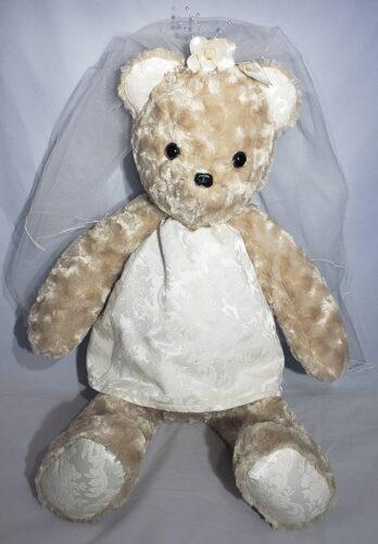 88-Beary Huggables_Jen's Wedding Bear