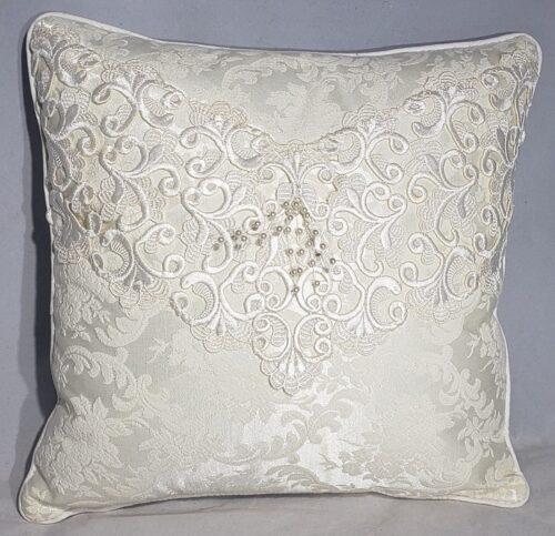 90-Beary Huggables_16 x 16 Wedding Dress Pillow