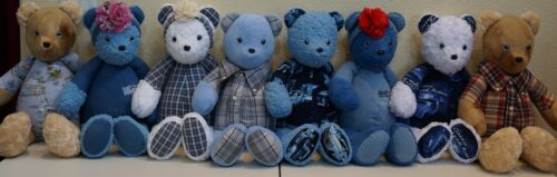 94-Beary Huggables_Hal's Family Memory Bears