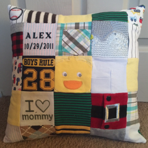 95-Beary Huggables_16 x 16 Alex Patch Work Pillow